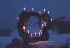 「陣屋の灯り」 たまごはうす