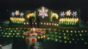 平成22年 第4回 結の灯りアートコンテスト金賞作品 今泉結実行委員会:雪の恵み