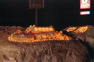 観光協会賞:「雪道はおまかせ!雪国のネコバス」 中原まつり実行委員会