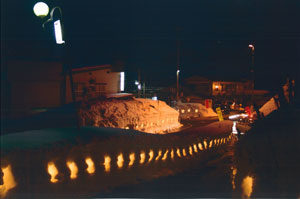 奨励賞:「灯りの道ロマン」 須原コミュニティー協議会& 地域のみなさま