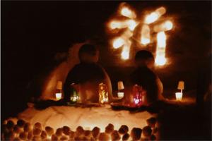 銅賞:祈り 小林ファミリー