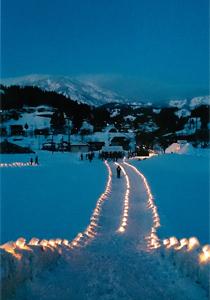 奨励賞:ここには「何もない」がある 雪明かり雪中行群実行委員会羽川コミュニティ協議会