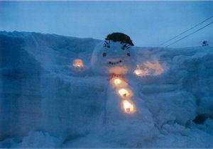 奨励賞:新雪でおめかし 雪とあそび隊