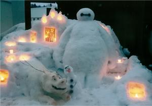 銀賞:光と雪のベイマックス 佐藤 茜