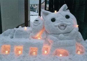 金賞:雪中行群 ガンバルにゃ~ 佐藤 茜