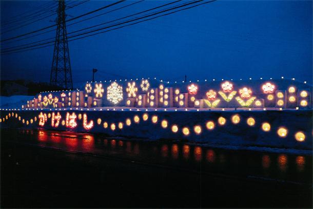 平成29年 第11回 結の灯りアートコンテスト金賞作品 今泉地区:かけはし