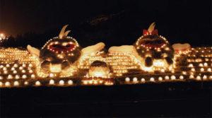 平成21年 第3回 結の灯りアートコンテスト金賞作品 OYS:2009翔び立とう!結の心でトキめき国体へ